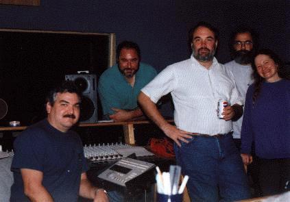 Southern Rail - Studio Break - Doobie Shea Studios - Roanoke VA